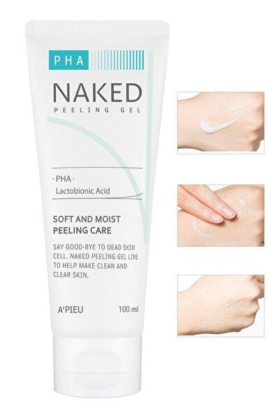 PHA İçeren Hassas ve Nemlendirici Peeling Jeli - A'PIEU Naked Peeling Gel (PHA) 100ml 8806185782616