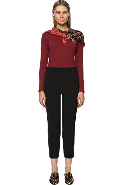 Network Kadın Regular Fit Siyah Pantolon 1070755