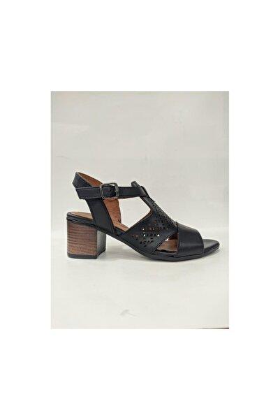 Venüs 1857209y Kadın Deri Topuklu Sandalet