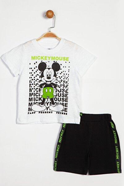 Mickey Mouse Disney Mickey Mouse Şortlu Takım 14029