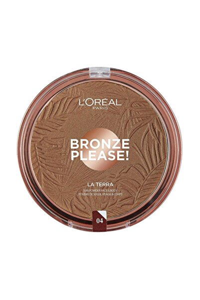 L'Oreal Paris Bronzlaştırıcı Pudra - Bronze Please! Taormina Intenso 04