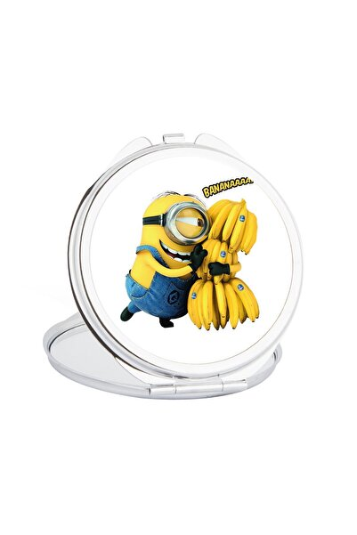 Hediyehanem Sevimli Minyonlar Banana Cep Ayna
