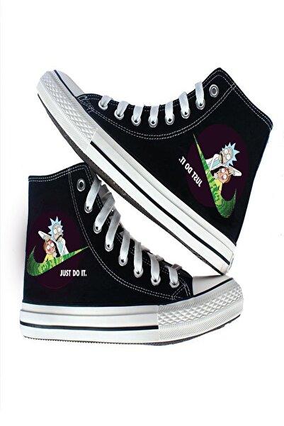 Art's Unisex Canvas Ayakkabı Rick Do It