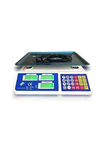 bydiz Elektronik Dijital Terazi 40 kg Kapasiteli 2 gr Hassasiyet