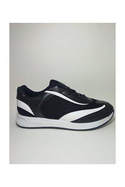 Strong Siyah Spor Ayakkabı