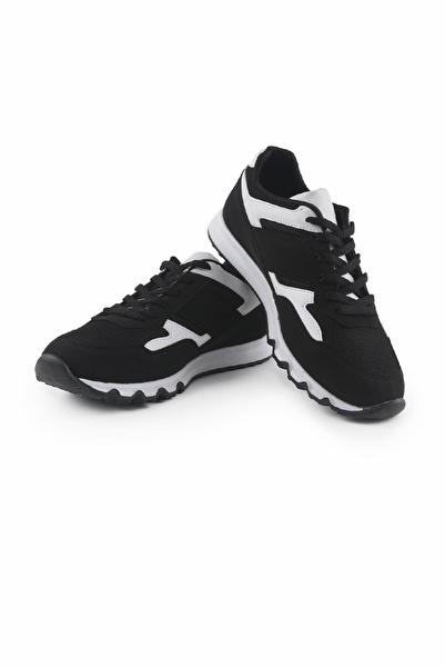 Tommy Life Siyah-Beyaz Erkek Spor Ayakkabı T08ER-89037