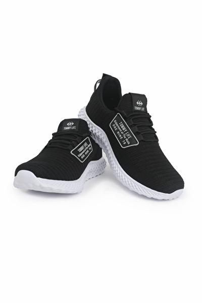 Tommy Life Siyah-Beyaz Erkek Spor Ayakkabı T08ER-89042_1