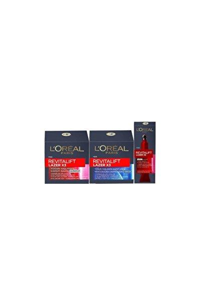 L'Oreal Paris L'oréal Paris Revitalift Yaşlanma Karşıtı Gündüz+gece+ Göz Bakım Seti