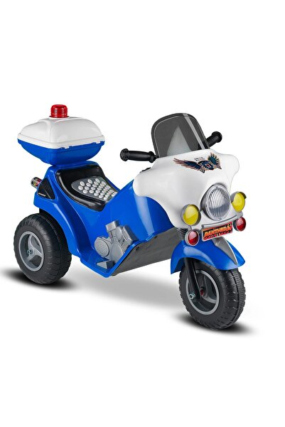 BabyHope Panthera Akülü Çocuk Motoru 6v - Mavi