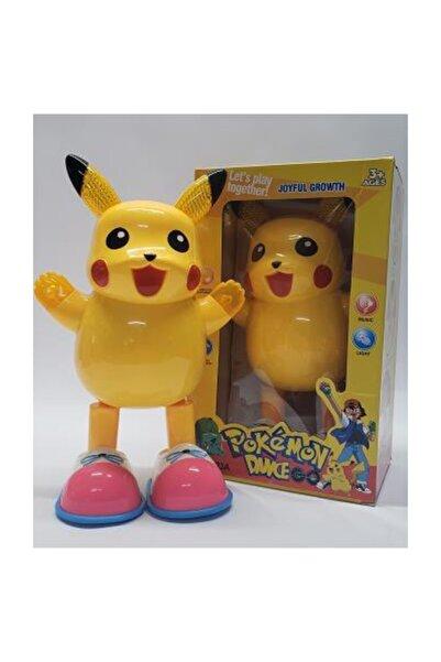 MRÇ Pokemon Go Dans Eden Robot Şarkı Söyleyen Işıklı Pikachu