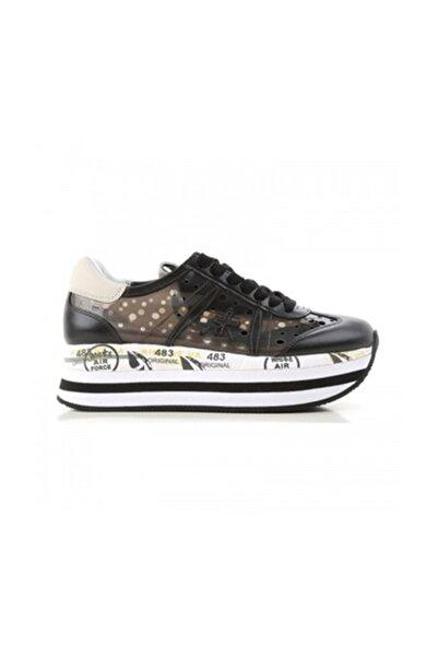 Premiata Kadın Spor Ayakkabı Siyah Beth 2993
