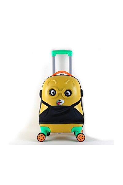 OX Kids Çoçuk Valizi Sarı