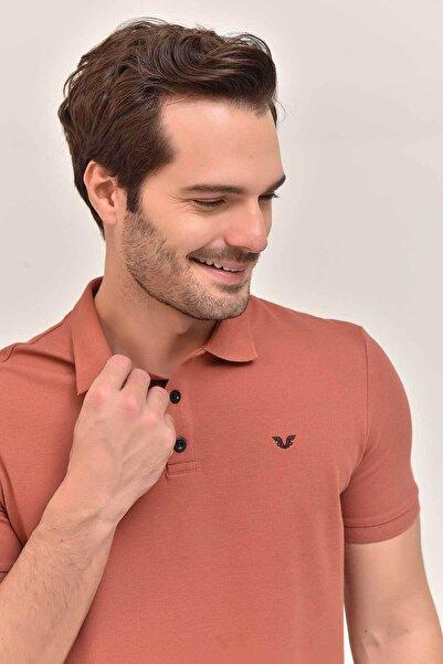 Kahverengi Erkek T-Shirt GS-8982