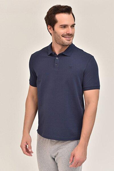 bilcee Lacivert Erkek Polo Yaka T-Shirt GS-8982