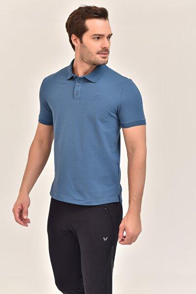 bilcee Mavi Erkek T-Shirt GS-8982