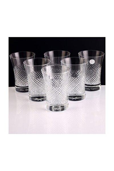 Kristal Vizyon Asit Dekor Işçilik Paşabahçe Su Bardağı 6lı