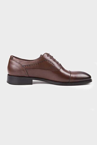 Hatemoğlu Hakiki Deri Kahverengi Klasik Ayakkabı 13171019C029