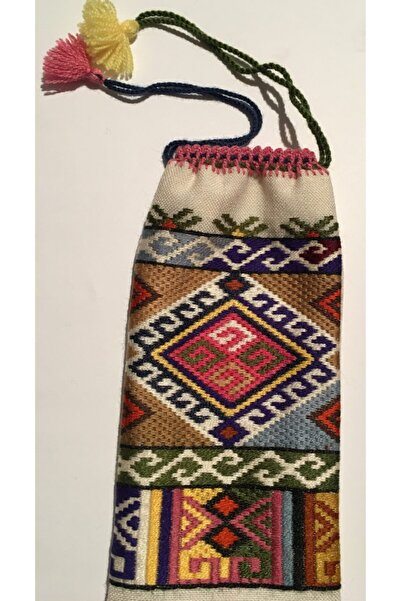 Galeri El Sanatları Kilim Desenli Otantik Gözlük Kılıfı / Cüzdan / Telefon Kabı