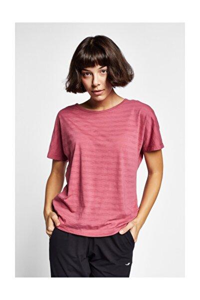 Lescon 19Y-2171 Gül Kurusu Kadın Kısa Kollu T-Shirt