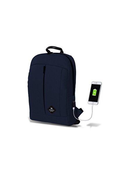 Smart Bag Galaxy Usb Şarj Girişli Sırt Çantası Lacivert /