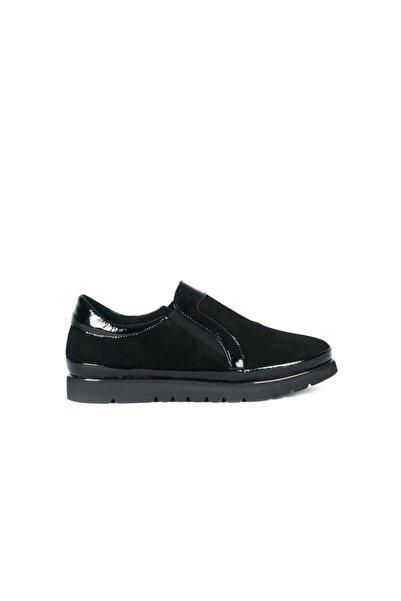 Tanca Sıyah Rugan Kadın Casual Ayakkabı  192Tck763 19517