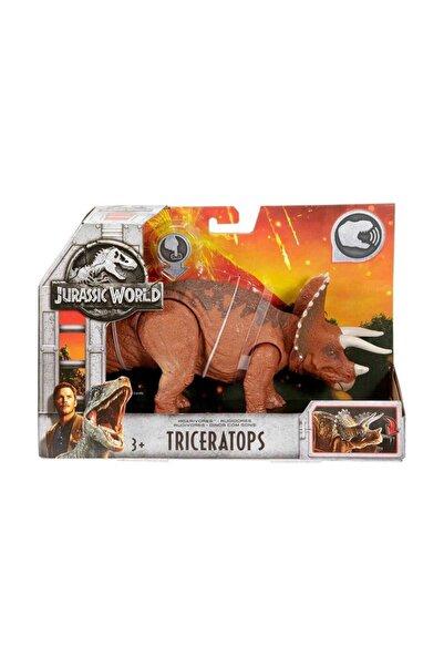 JURASSIC WORLD Sesli Dinozor Figürleri FMM23 - Triceratops