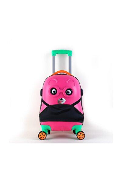 OX Kids Çoçuk Valizi Pembe