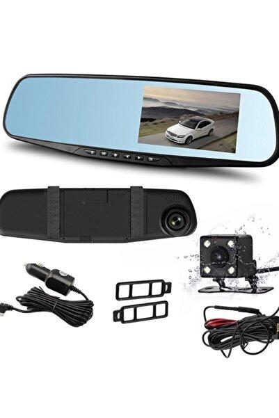 PoyrazGlobal Kameralı Dikiz Aynası Geri Görüş Kameralı Park Sensörü 1080p Dikiz