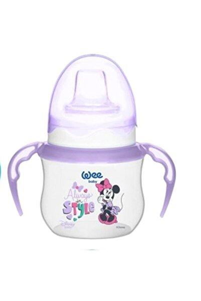 Wee Baby Disney Kulplu Alıştırma Bardağı 125 ml  Mor