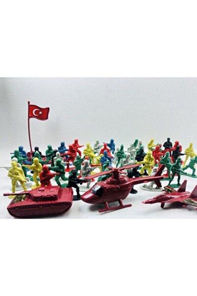 Bircan Oyuncak Türk Askeri Asker Seti Tam 58 Parça Oyuncak Asler Seti