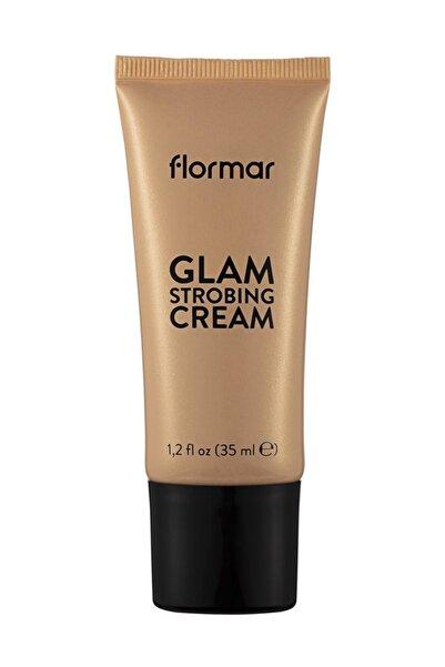 Flormar Makyaj Bazı - Glam Strobing Cream 002 Peach 8690604645916