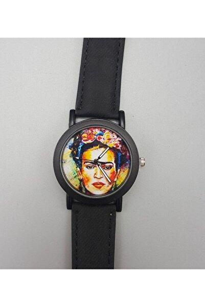 Köstebek Art - Frida Kahlo - Water Colour Portre Kol Saati