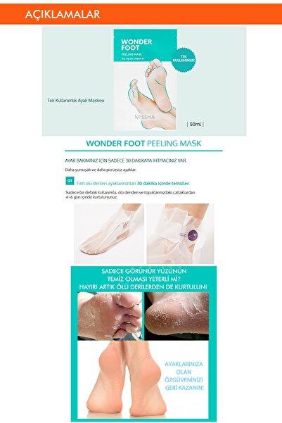 Ayak Peeling Maskesi - MISSHA Wonder Foot Peeling Mask 8809581463660