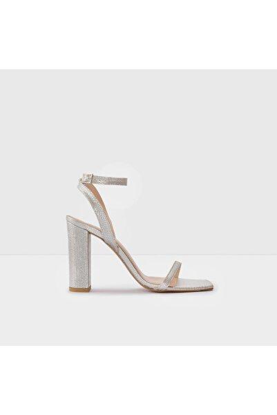Aldo Kadın Gümüş Topuklu Sandalet