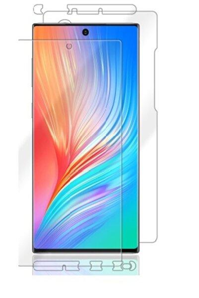 Wrapsol Samsung Galaxy Note 10 Plus Ekran Koruyucu Full Body, Arka, Ön Yan Poliüretan Film