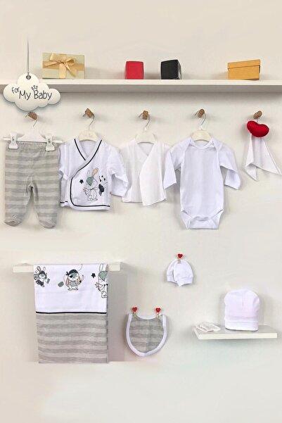 For My Baby Bunny Erkek Bebek 10'lu Hastane Çıkış Seti 20920