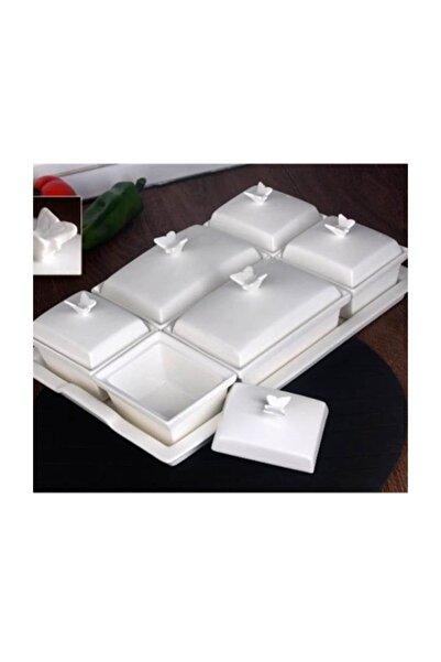 GÖNÜL Porselen 6 Li Kahvaltilik 34,50X23 Cm