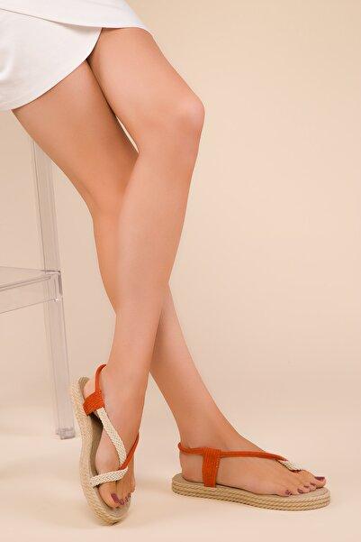 SOHO Orange Kadın Sandalet 15018