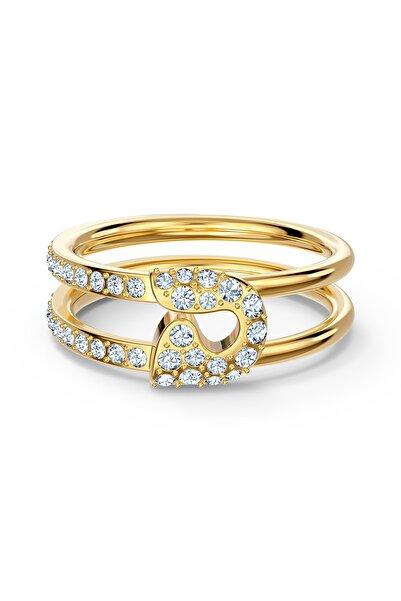 Swarovski Kadın Gold  So Cool Yüzük Cry-gos 58 5535566