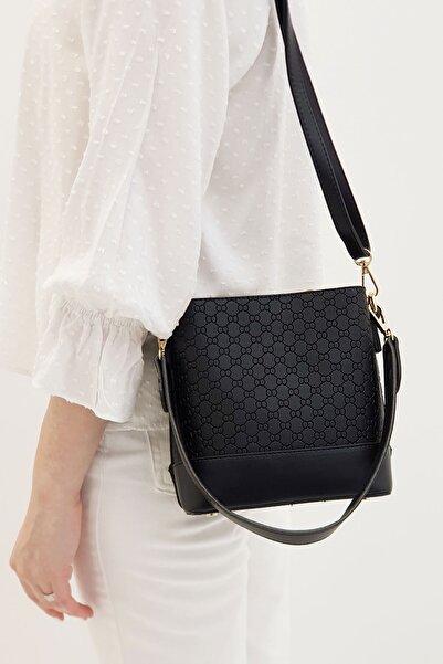 Marjin Fustel Kadın Günlük Çanta Siyah