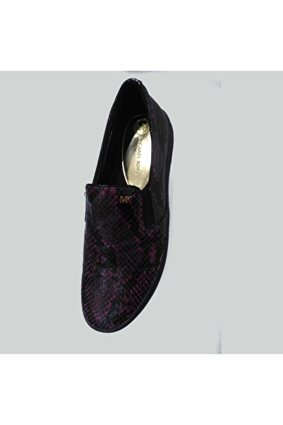 Michael Kors Kadın Bordo Keaton Slip On Ayakkabı 43f5ktfp2e