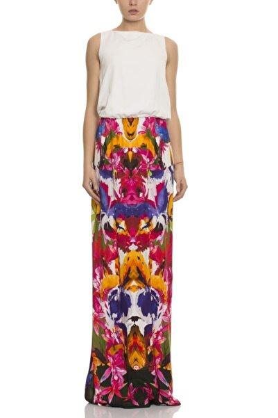 GİZİA Kadın Çiçek Desenli Uzun Elbise