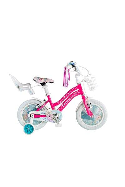 Kron Lisanslı Elsa Frozen 14 Jant Çocuk Bisikleti
