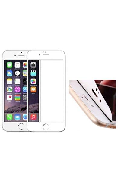 Apple Iphone 7 Plus Beyaz Nano Flexiable Silikon Ekran Koruyucu Film