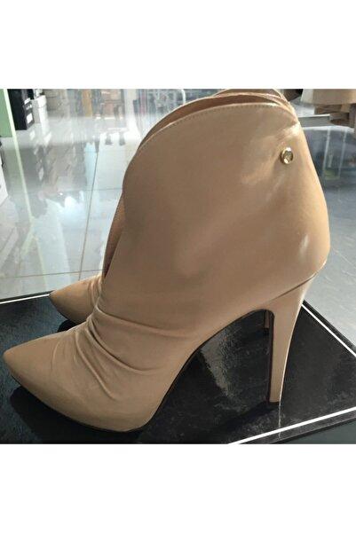 Cesare Paciotti Kadın Topuklu Bot Kumsal 925810