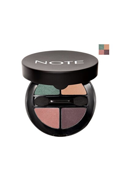 NOTE 4'lü Göz Farı - Luminous Silk Quattro Eyeshadow 02 8680705302023