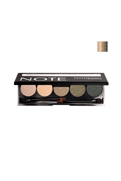 NOTE Cosmetics  5'li Göz Farı - Professional Eyeshadow No: 103