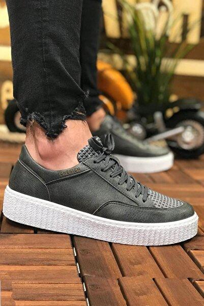 Chekich Bt Erkek Ayakkabı Antrasit Ch017