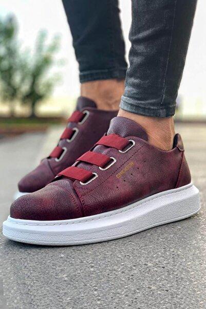 Chekich Bt Erkek Ayakkabı Bordo Ch253