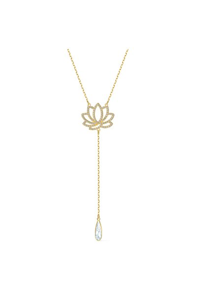 Swarovski Kolye Swa Symbol-necklace Lotus Czwh-cry-gos 5521468